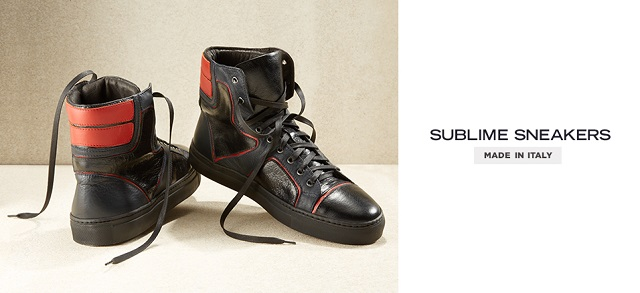 Made in Italy Sublime Sneakers at MYHABIT