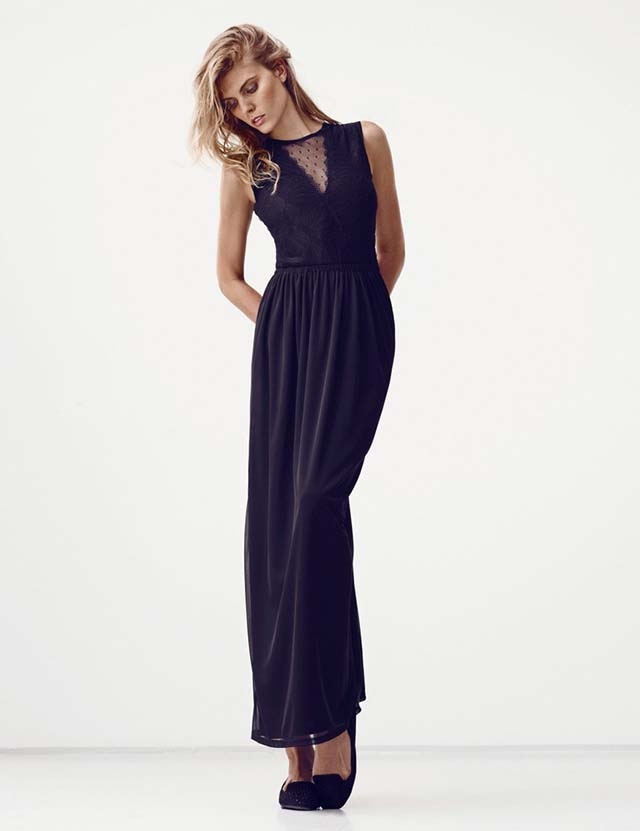 Maryna Linchuk for H&M Summer Black 2013_9