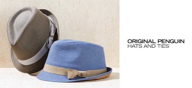 Original Penguin Hats & Ties at MYHABIT