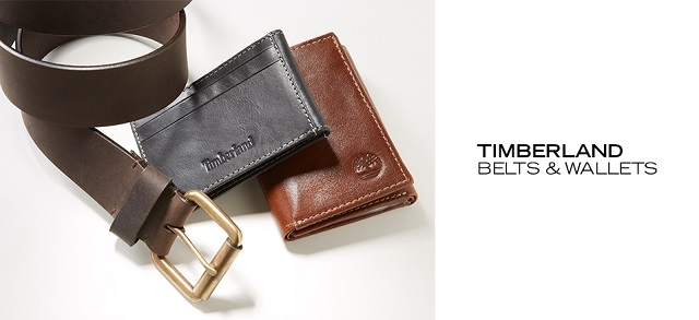 Timberland Belts & Wallets at MYHABIT
