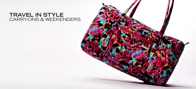 Travel in Style Carry-ons & Weekenders at MYHABIT