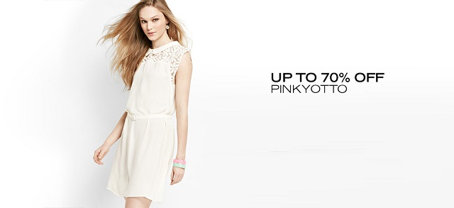 Up to 70 Off Pinkyotto at MYHABIT
