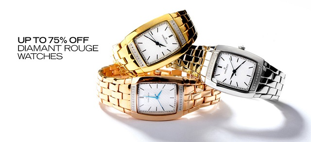Up to 75 Off Diamant Rouge Watches at MYHABIT