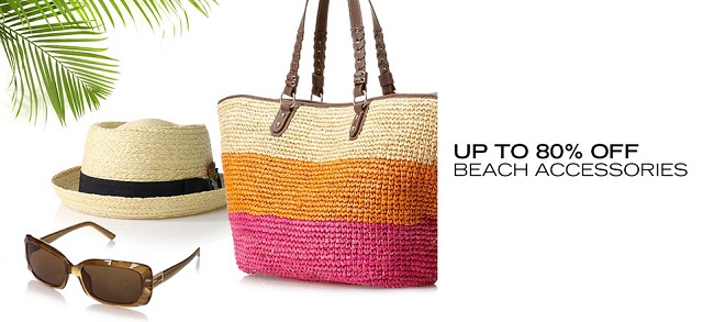 Up to 80 Off Beach Accessories at MYHABIT
