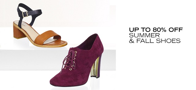 Up to 80 Off Summer & Fall Shoes at MYHABIT