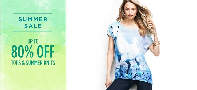 Up to 80 Off Tops & Summer Knits at MYHABIT