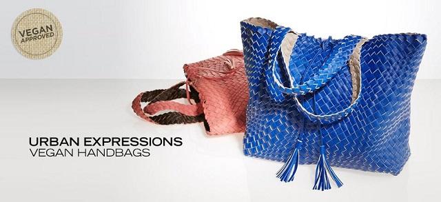 Urban Expressions Vegan Handbags at MYHABIT