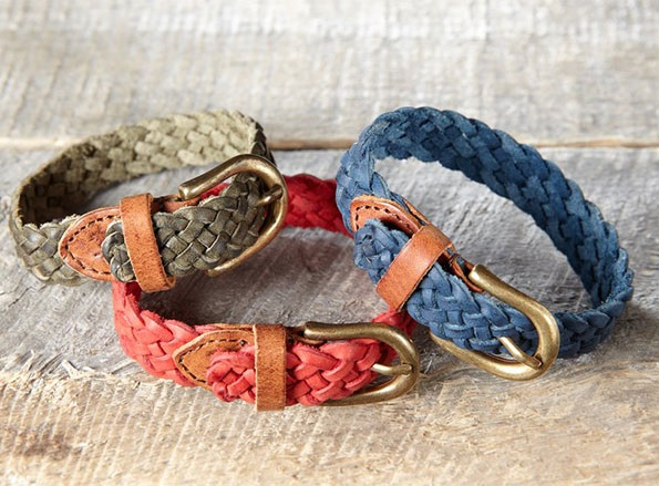 Will Leather Goods Warbler Braided Bracelet