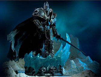 World of Warcraft Arthas Limited Edition Deluxe Statue