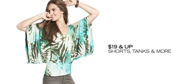 $19 & Up Shorts, Tanks & More at MYHABIT