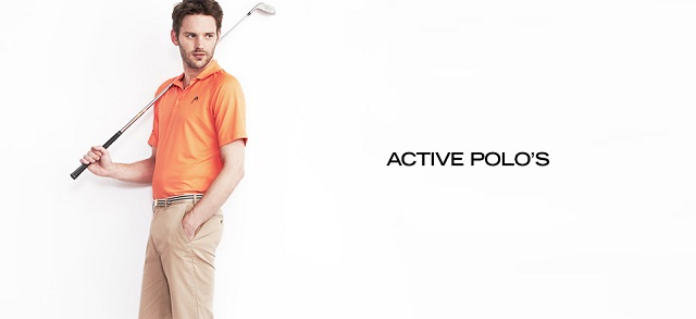 Active Polo's at MYHABIT