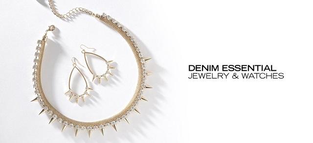 Denim Essential Jewelry & Watches at MYHABIT