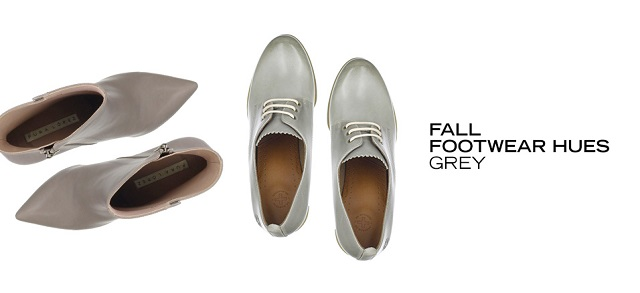 Fall Footwear Hues Grey at MYHABIT