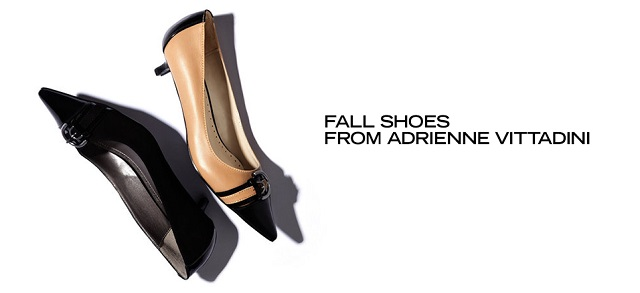 Fall Shoes from Adrienne Vittadini at MYHABIT