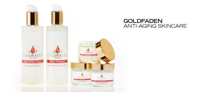 Goldfaden Anti-Aging Skincare at MYHABIT