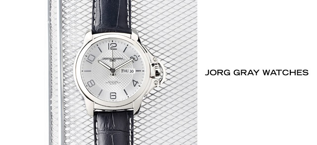 Jorg Gray Watches at MYHABIT