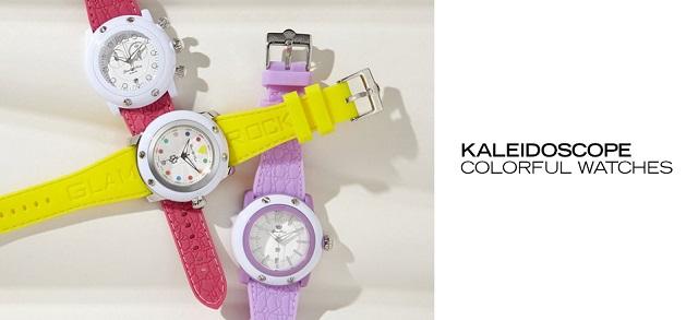 Kaleidoscope Colorful Watches at MYHABIT