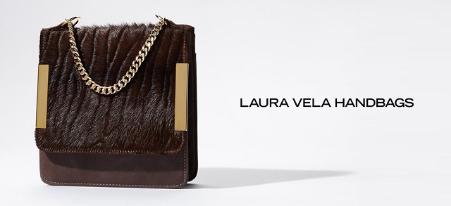 Laura Vela Handbags at MYHABIT