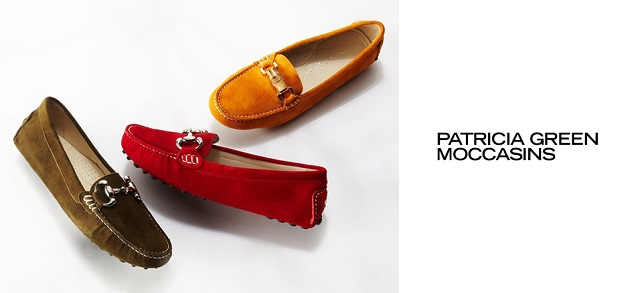 Patricia Green Moccasins at MYHABIT