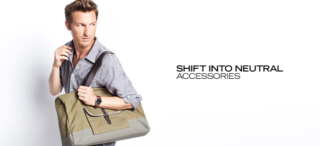 Shift Into Neutral Accessories at MYHABIT