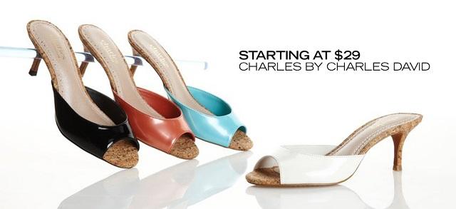 Starting at $29 Charles by Charles David at MYHABIT