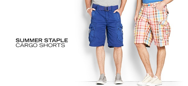 Summer Staple Cargo Shorts at MYHABIT