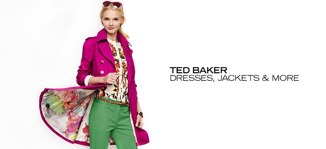 Ted Baker Dresses, Jackets & More at MYHABIT