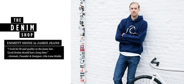 The Denim Shop James Jeans at MYHABIT