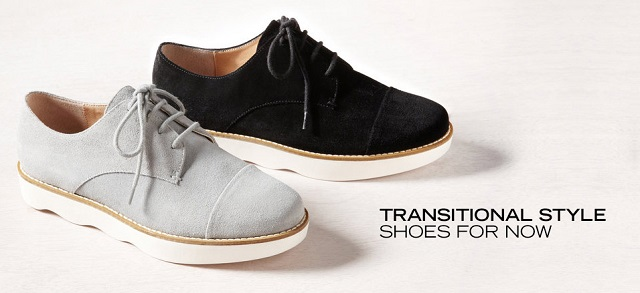 Transitional Style Shoes for Now at MYHABIT