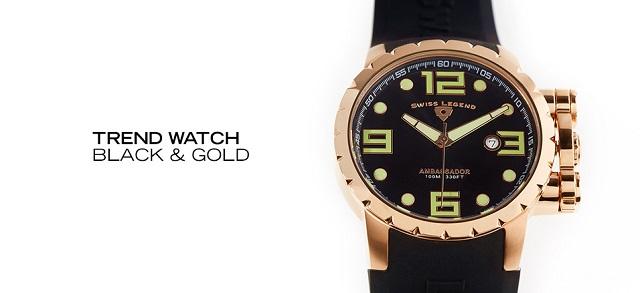 Trend Watch Black & Gold at MYHABIT