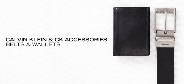Calvin Klein & CK Accessories Belts & Wallets at MYHABIT