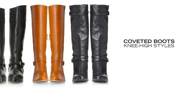 Coveted Boots Knee-High Styles at MYHABIT
