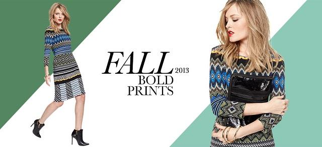 Fall 2013 Bold Prints at MYHABIT