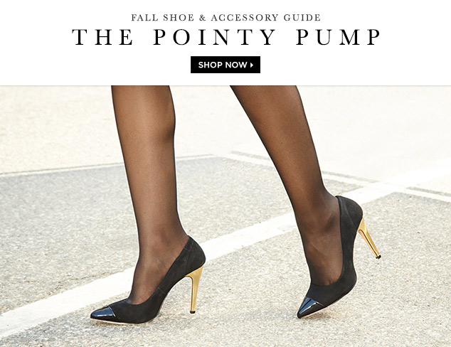 Fall Shoe & Accessory Guide The Pointy Pump at MYHABIT