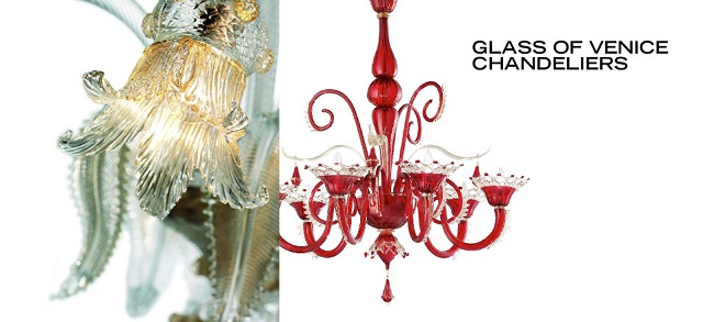 Glass of Venice Chandeliers at MYHABIT