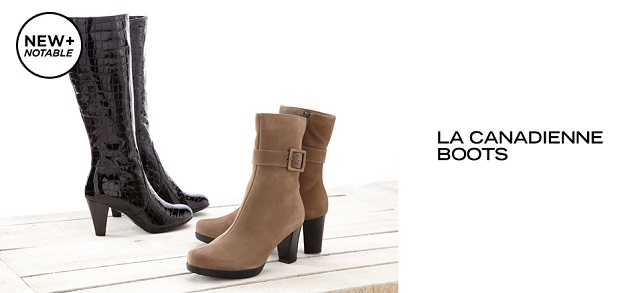 La Canadienne Boots at MYHABIT