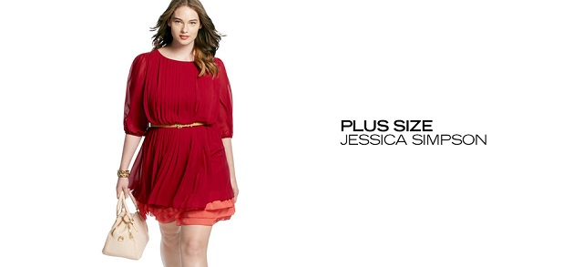Plus Size Jessica Simpson at MYHABIT