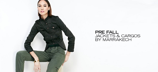 Pre Fall Jackets & Cargos By Marrakech at MYHABIT