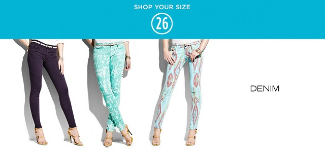 Shop Your Size 26 Denim at MYHABIT