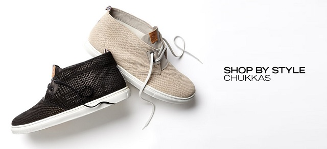 Shop by Style Chukkas at MYHABIT