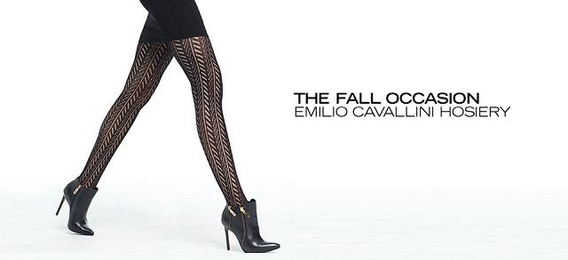 The Fall Occasion Emilio Cavallini Hosiery at MYHABIT