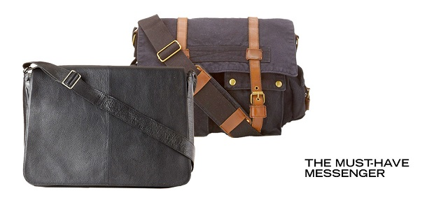 The Must-Have Messenger at MYHABIT