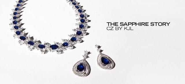 The Sapphire Story CZ by KJL at MYHABIT