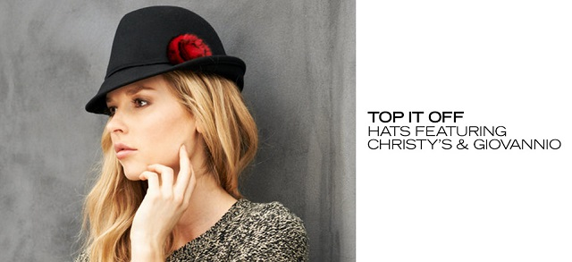 Top It Off Hats ft. Christy's & Giovannio at MYHABIT