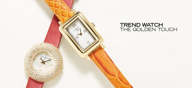 Trend Watch The Golden Touch at MYHABIT