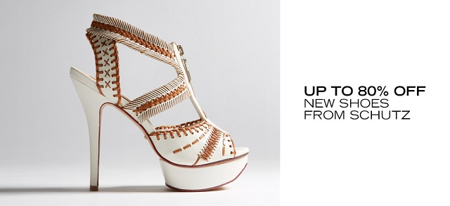 Up to 80 Off New Shoes from Schutz at MYHABIT