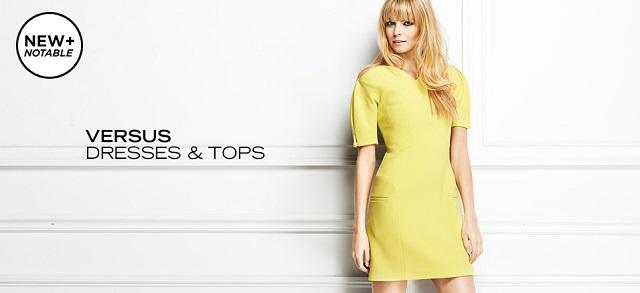 Versus Dresses & Tops at MYHABIT