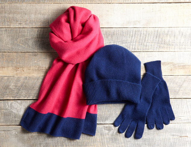 Cozy Cold Weather Accessories at MYHABIT