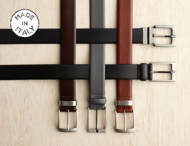 Made in Italy J. Campbell Los Angeles Dress Belts at MYHABIT