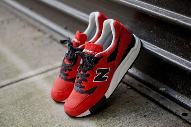 New Balance M998 - Red/Black